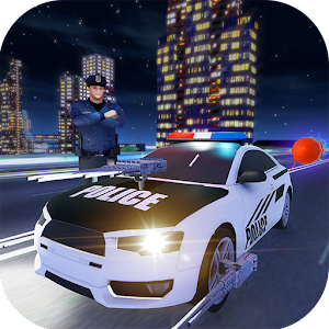 Download Police Car Driving Criminal Chase Night Escape For PC Windows and Mac