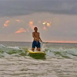 { Rydin The Waves @ Sunset ~ 27 July }  by Jeffrey Lee - People Street & Candids ( { rydin the waves @ sunset ~ 27 july } )