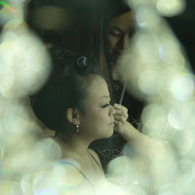 blur make up by Teguh Adi - Wedding Getting Ready ( jewel, eyebrow, makeup, sunday, morning )