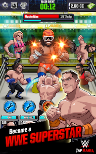 Game WWE Tap Mania apk for kindle fire