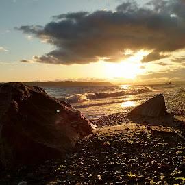 Shorewood sunset by Gene Richardson - Instagram & Mobile Android