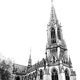 by Gemma-Louise Porter - Buildings & Architecture Places of Worship ( religion, black and white, germany, cathedral, travel, worship )