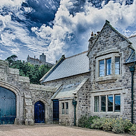 St Michaels Mount by Jim Keating - Buildings & Architecture Architectural Detail ( clouds, sky, hdr, stone, architecture )