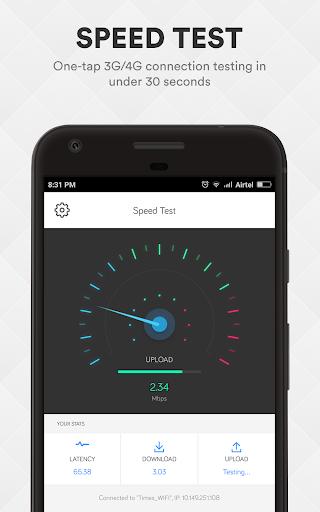 Smart Data Usage Monitor & Speed Test - smartapp screenshot 2
