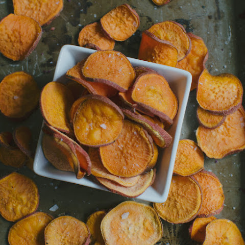 Sweet Potato Chips 3 Ways