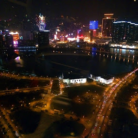 by Praveen Chand - Instagram & Mobile iPhone ( artificial lights · macau · pwc83: night light · night · lights ·, night, lights )