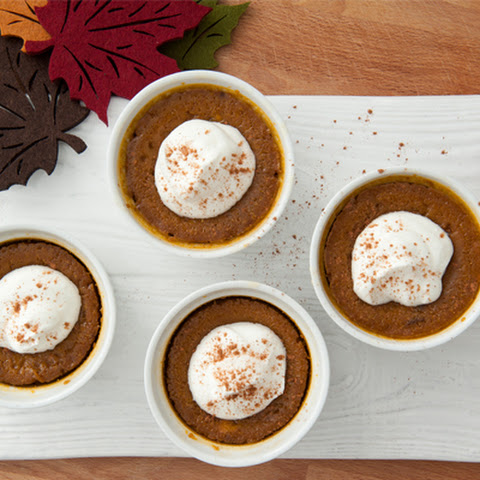 Five-Ingredient Pumpkin Custards