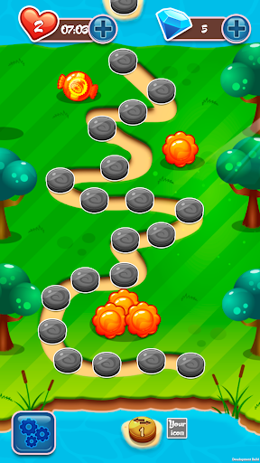Snack 3 Match Game - screenshot