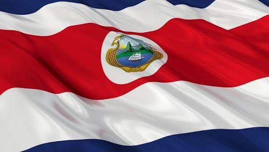 Costa Rica Flag Wallpapers - screenshot