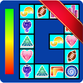 Connect - colorful casual game icon