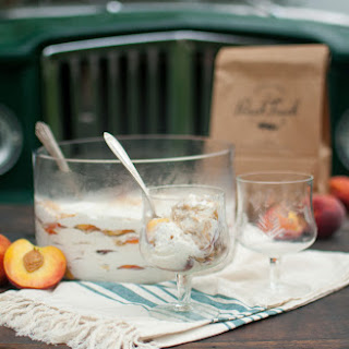 Peach Icebox Cake