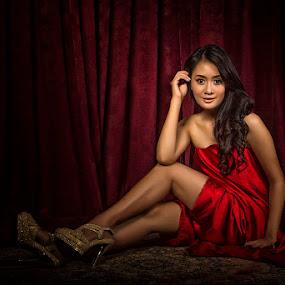 Yes, I Do by Arifandi Raditya - People Portraits of Women ( model, sexy, low key, beauty, portrait )