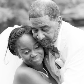 Daddy's Little Girl by Amanda Marie - Wedding Bride ( wedding photography, wedding, bride )
