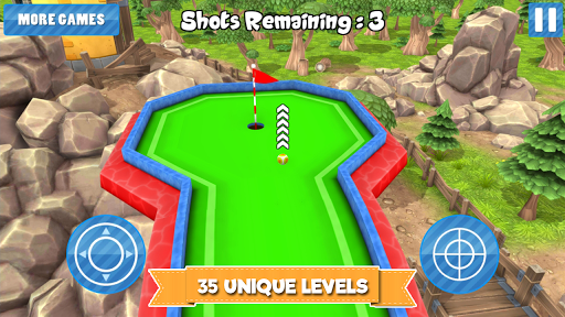 Mini Golf Cartoon Forest - screenshot