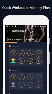 ManFIT - Workout at Home with No Fitness Equipment Screenshot