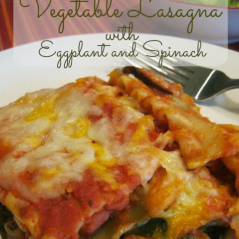Vegetable Lasagna With Eggplant and Spinach