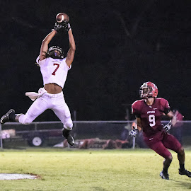 REACH! by Jackie Nix - Sports & Fitness American and Canadian football ( athletes, football, prattville lions, sports, stanhope elmore high school, prattville high school )