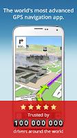 Screenshot of GPS Navigation & Maps Sygic
