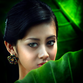 Look by Suloara Allokendek - People Portraits of Women ( model, girl, green, woman, eyes )