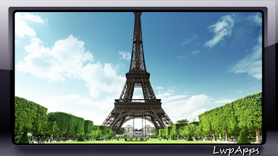 Eiffel Tower Wallpaper - screenshot