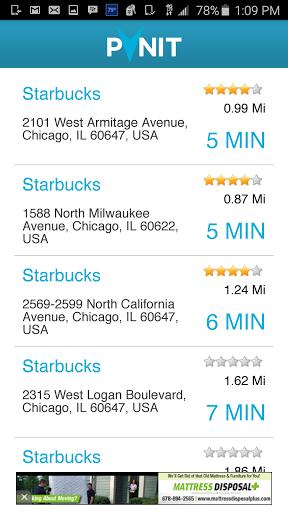 Pynit Navigation App Screenshot