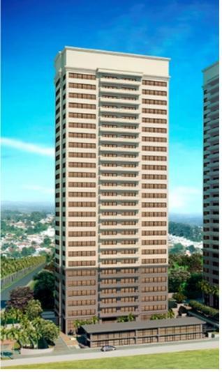 Alphaville - 1/2 (meia) Laje Corporativa 677m²  18 Vagas  22° Andar na Alameda Araguaia para Locação.