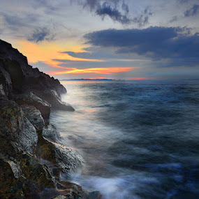 ::. Waves on Hills .:: by Echi Amenk Fariza - Landscapes Mountains & Hills ( water, rock and stone, nature, waterscapes, landscape )
