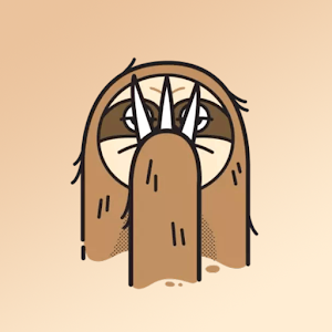Monkey Sloth Sticker for WhatsApp For PC / Windows 7/8/10 / Mac – Free Download