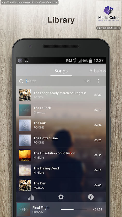 Music Cube - Pro Music Player Screenshot 1
