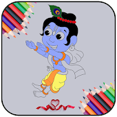Game Little Krishna Color Book APK for Kindle