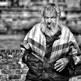 Hard times  by Johann Bekker - Novices Only Street & Candid