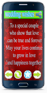Wedding Day Wishes and Quotes - screenshot