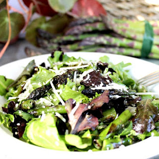 Grilled Asparagus Salad with Hemp Hearts