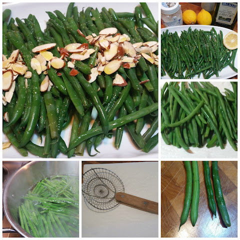 French Green Beans with Sliced Almonds
