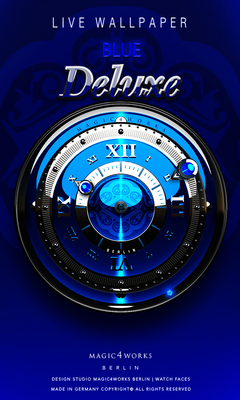 Deluxe Clock Bundle LWP Screenshot 1