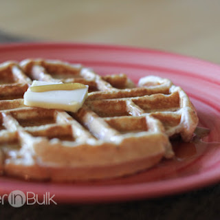Whole Wheat Waffles - An Easy Breakfast