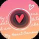 ハートのスタンプならMy Heart Camera