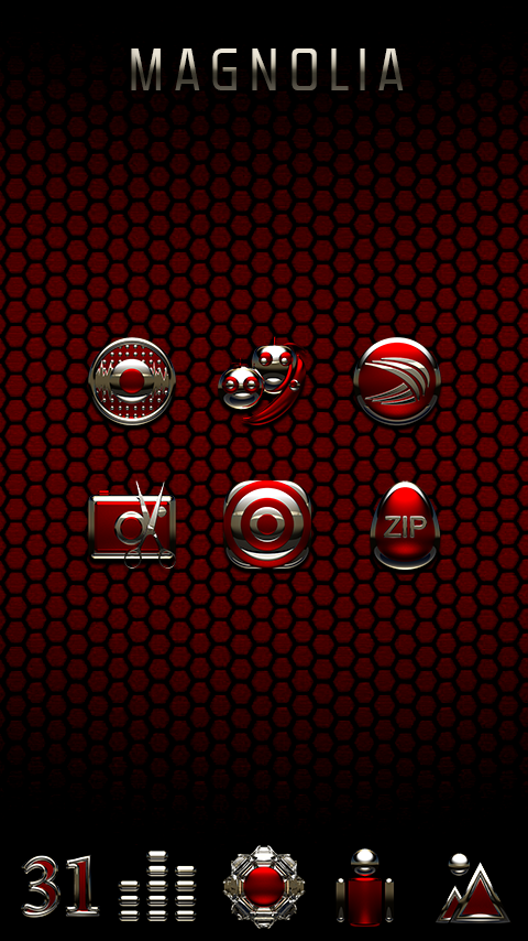 MAGNOLIA Icon Pack Screenshot 2