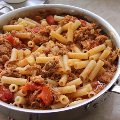 Leftover Pulled Pork Ragu