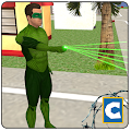 Free Green Ring Hero Crime Battle APK for Windows 8