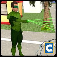 Green Ring Hero Crime Battle For PC