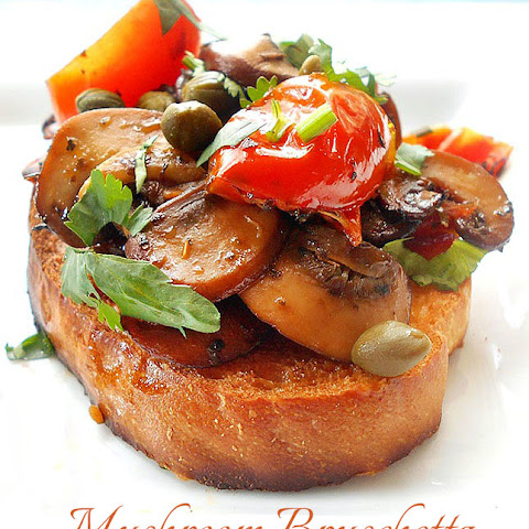 10 Best Tomato Mushroom Bruschetta Recipes | Yummly