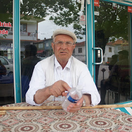 Pensioner by Luboš Zámiš - People Portraits of Men