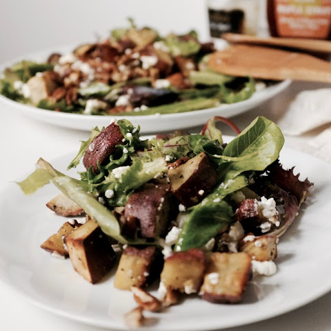Sweet Potato and Pecan Salad