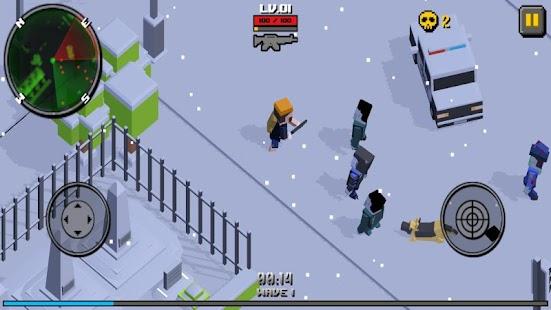 Cube Zombie Hunter