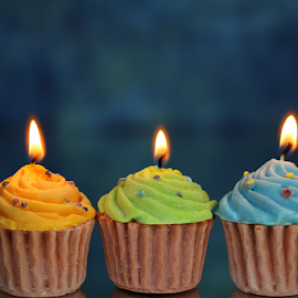 by Dipali S - Artistic Objects Other Objects ( candle, cupcake, decoration, artistic object, light )