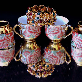 JEWELS by SANGEETA MENA  - Artistic Objects Cups, Plates & Utensils
