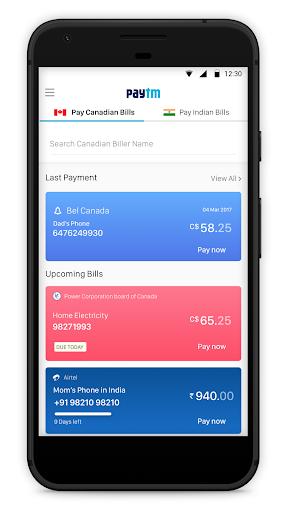 Paytm - Pay Bills in Canada screenshot 1