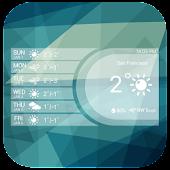 Free Bright Clock Weather Widget APK for Windows 8