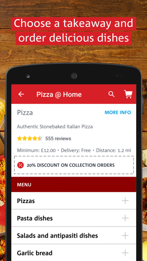 hungryhouse Takeaway Delivery Screenshot 2